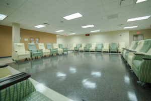 Dosing and procedures area
