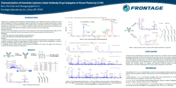 Poster: Characterization of Interchain Cysteine Linked Antibody Drug Conjugates…