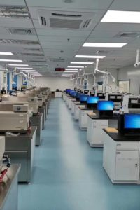 Frontage Holdings new lab China