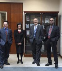 Promotions of Dr. John Lin, Dr. Abdul Mutlib, Dr. Dongmei Wang