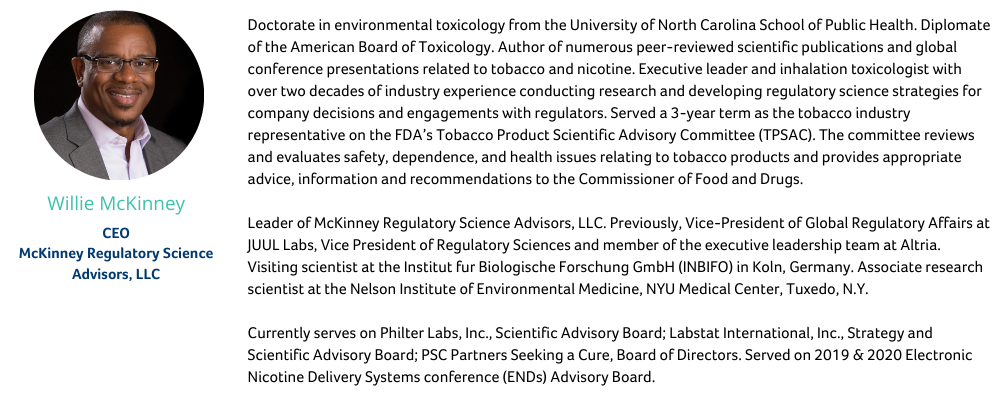 Tobacco Panelists - Panel Discussion