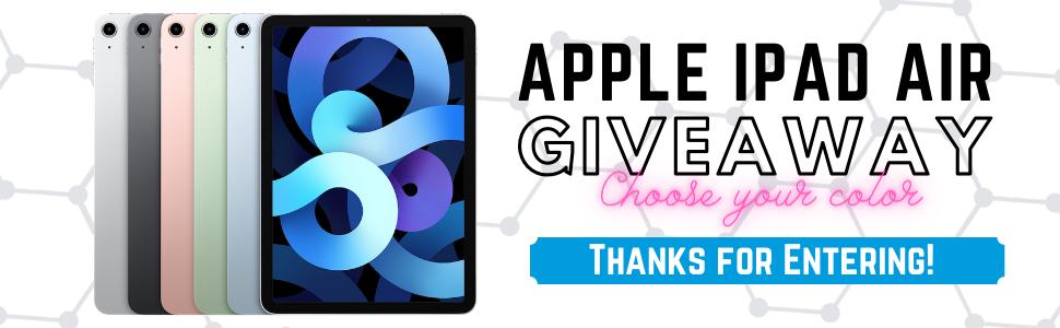 iPad Giveaway 1 - 2021 SOT Giveaway